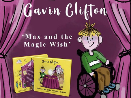 Character Sketch: Max And The Magic Wish
