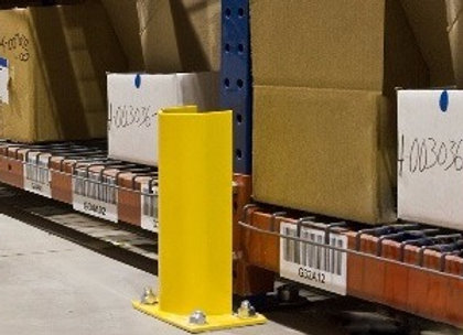 Safety bollards, Guard rails, post protectors, end of row Guards!