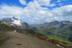 Glacier des Glaciers - Col de Seigne