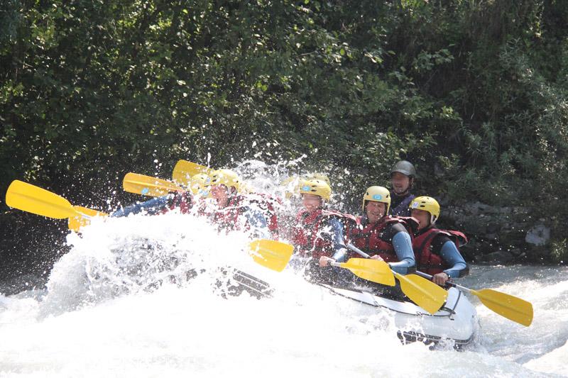 Les Marm'hôtes - Rafting