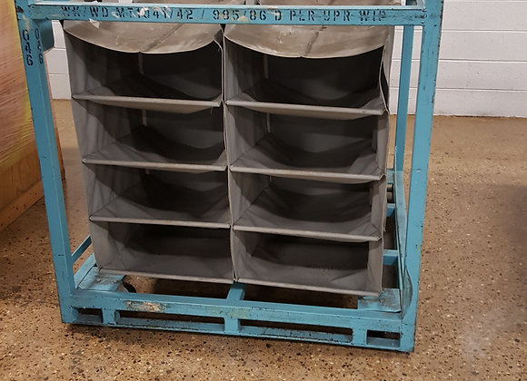 Bulk Containers & slotted storage racks