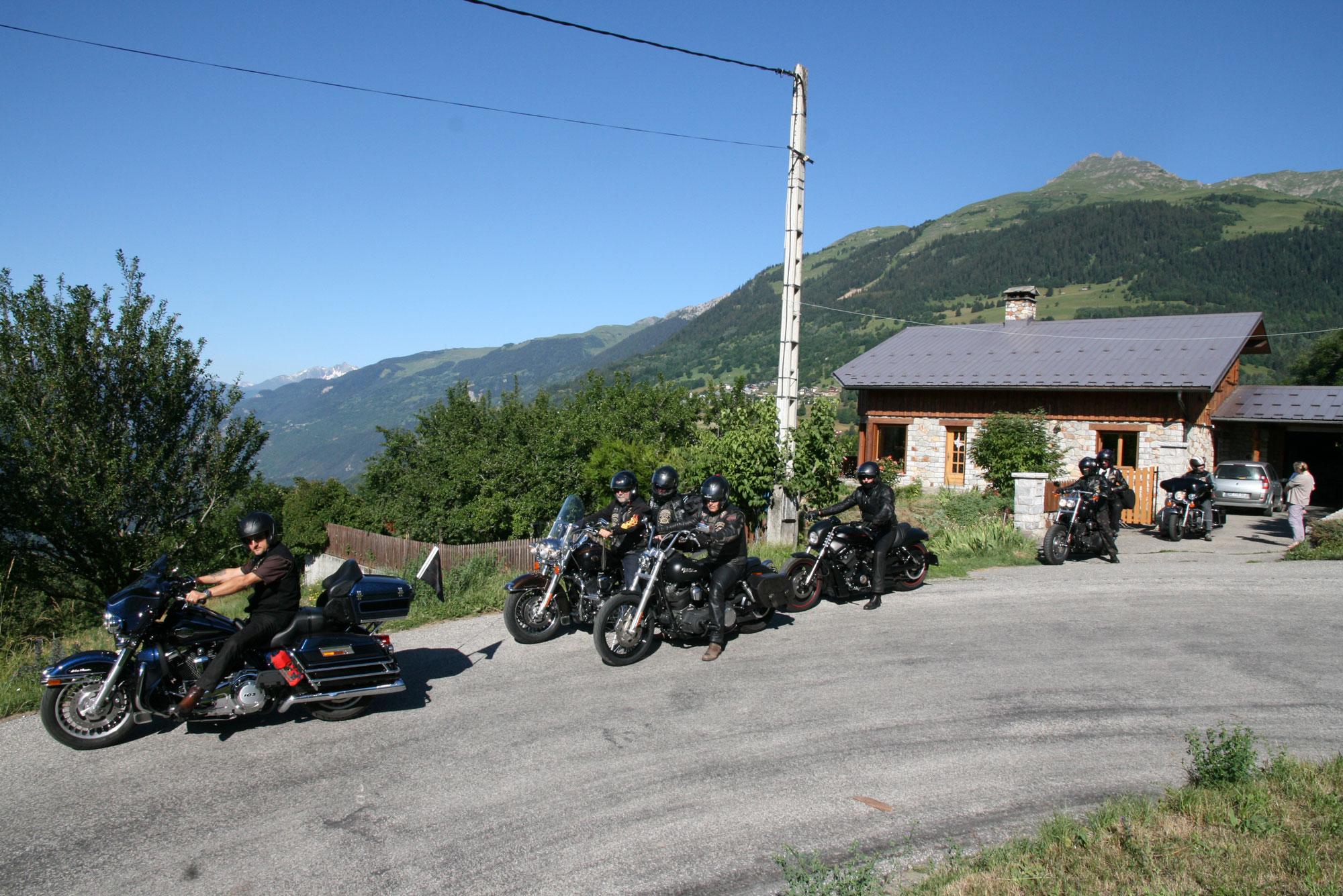 Les Marm'hôtes - Harley Davidson