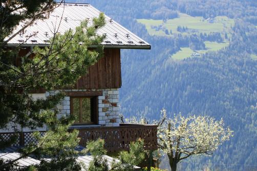 La maison et sa vue extraordinaire