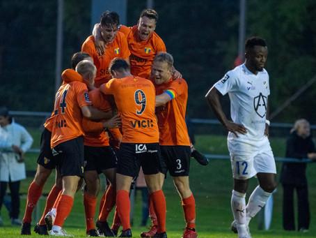 Viktig seger mot IFK Malmö