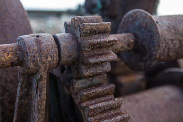 Rostiga kugghjul / Rusty cog wheel