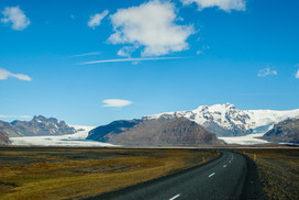 Glaciären Vatnajökul / The glacier Vatnajökul