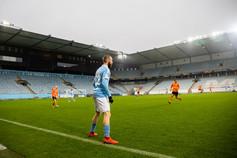 Träningsmatch mot Malmö FF