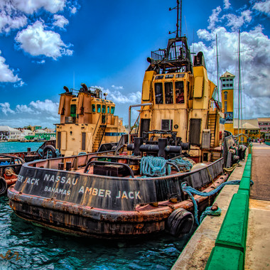 Tug Boats in the Bahamas