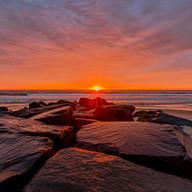 Sunrise in Manasquan Beach