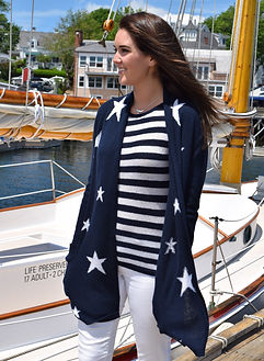 Brodie Cashmere sweaters on the Bay Lady through Balmy Days Cruises