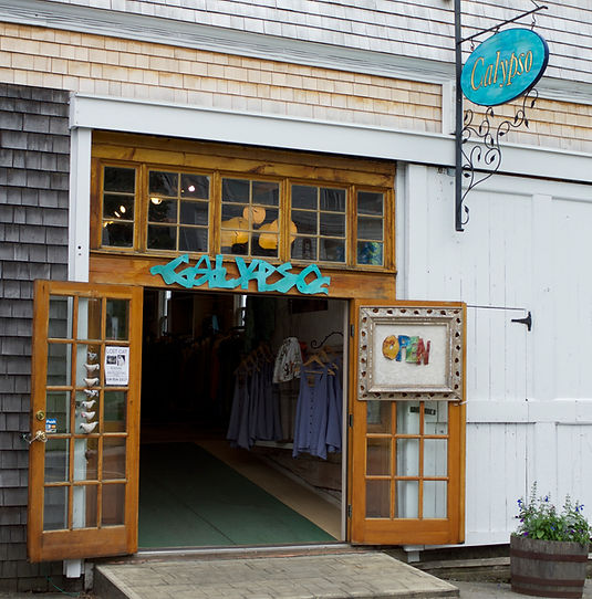Calypso store 50 commercial st. Boothbay Harbor, ME