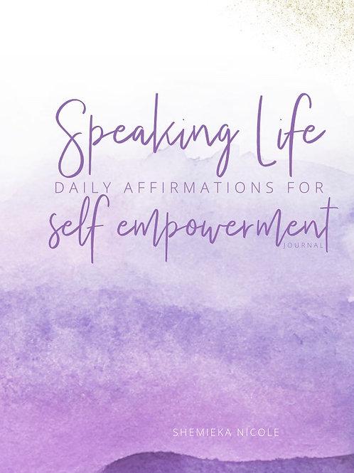 Speaking Life Journal