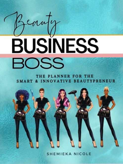 Beauty Business Boss Planner