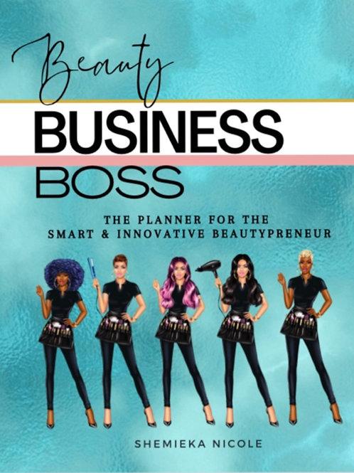 Beauty Business Boss Planner