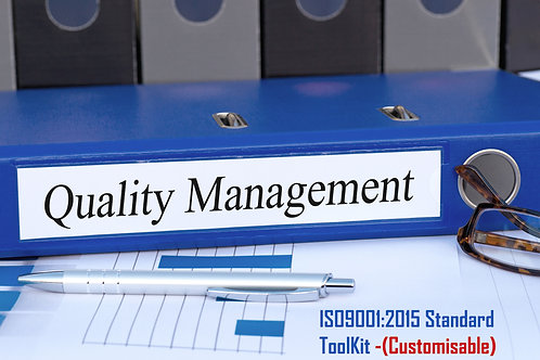 ISO 9001:2015 Quality Management  Systems Toolkit