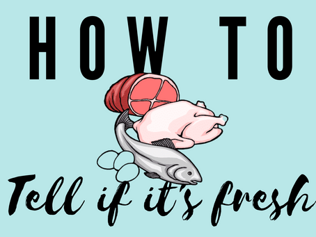 How to know your food is fresh – tips from the Jaffa Foodie team