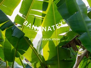 バナナだけで出来た世界初の生地