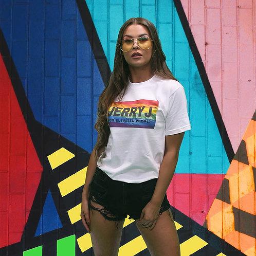 Jerry J: Rainbow Pride T-Shirt