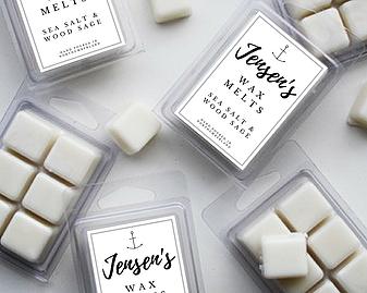 Jensen's: Sea Salt and Wood Sage Soy Wax Melts