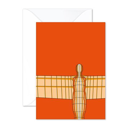 Angel of the North - Greetings Card
