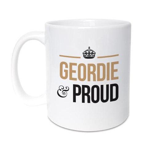 Geordie Gifts - Geordie and Proud mug