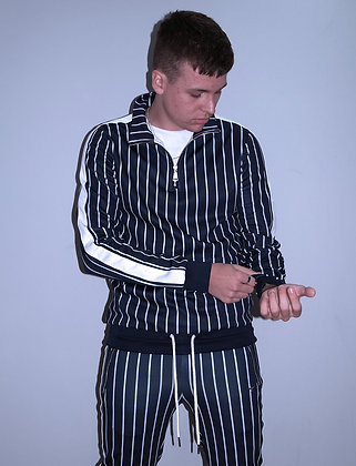 LLORDZ: Striped trackie top