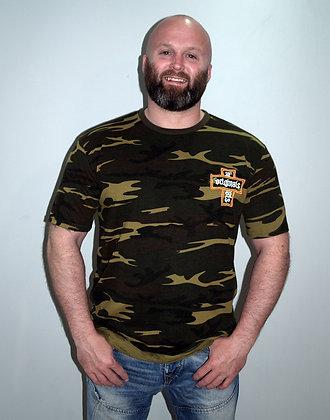 CUA Originals: Camouflage Oversize T-Shirt