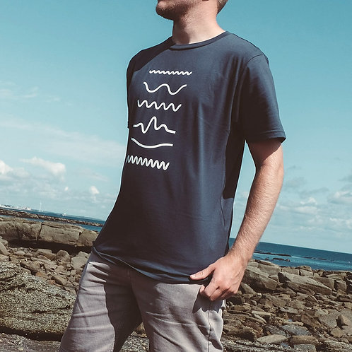 A City By The Sea: Waves T-shirt