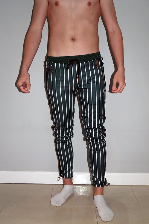 LLORDZ: Striped trackie bottoms