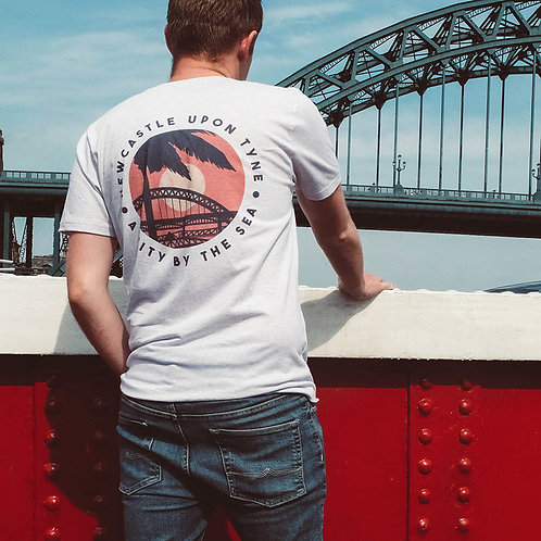 A City By The Sea: Quayside Seaside tee