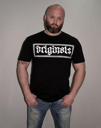 CUA Originals: Longline Black T-Shirt