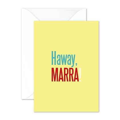 Haway, Marra - Greetings Card