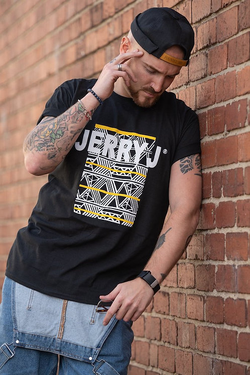 Jerry J: Universal African Print T-Shirt