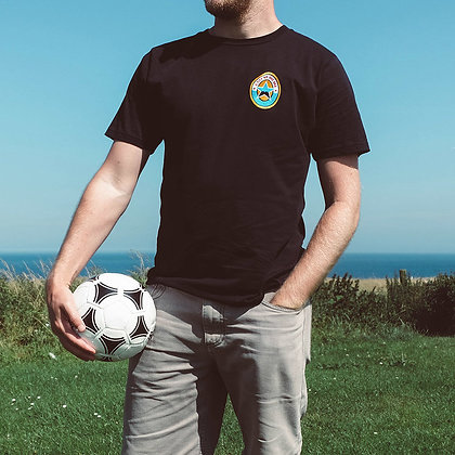 A City By The Sea: Brown Ale style t-shirt