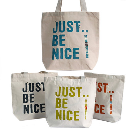 Just Be Nice - Tote Bag