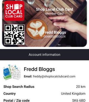 Relaunched Loyalty Card Scheme