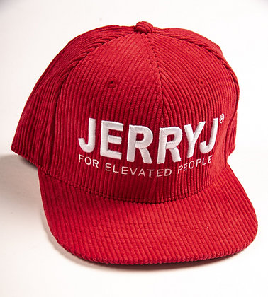 Jerry J: Washed Cord Snapback Cap