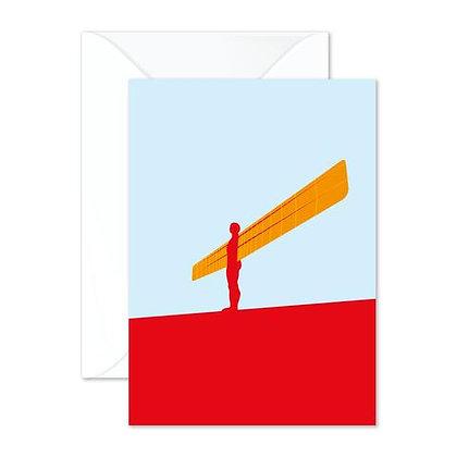 Angel of the North (NE) Greetings Card