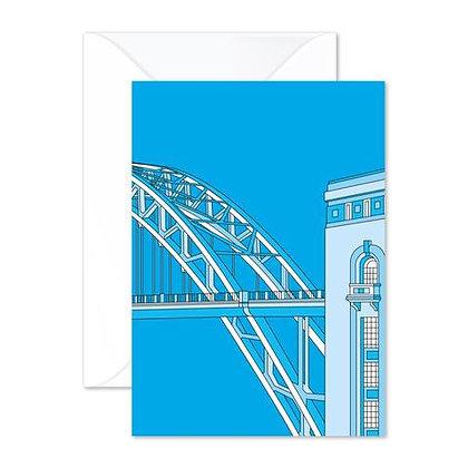 Tyne Bridge - Greetings Card
