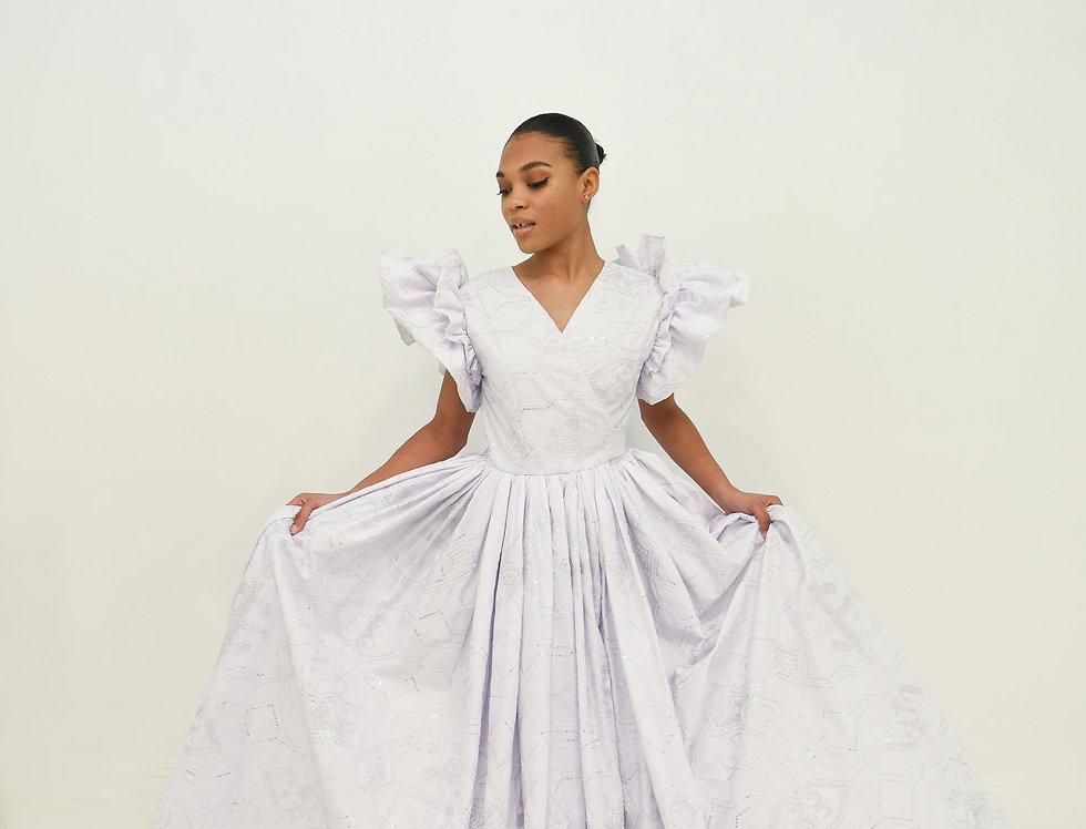 Wondrous Wrap Gown