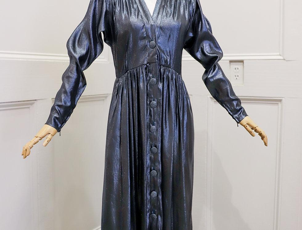 Vintage 1970s Yves Saint Laurent Gown