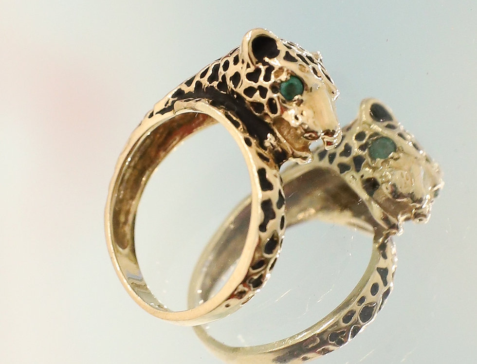 Panthère Gold Ring