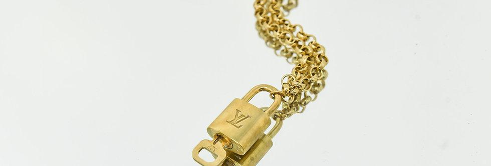 Vintage LV Pendant Necklace