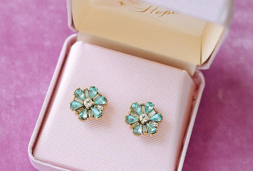 Tiffany Blue Studs