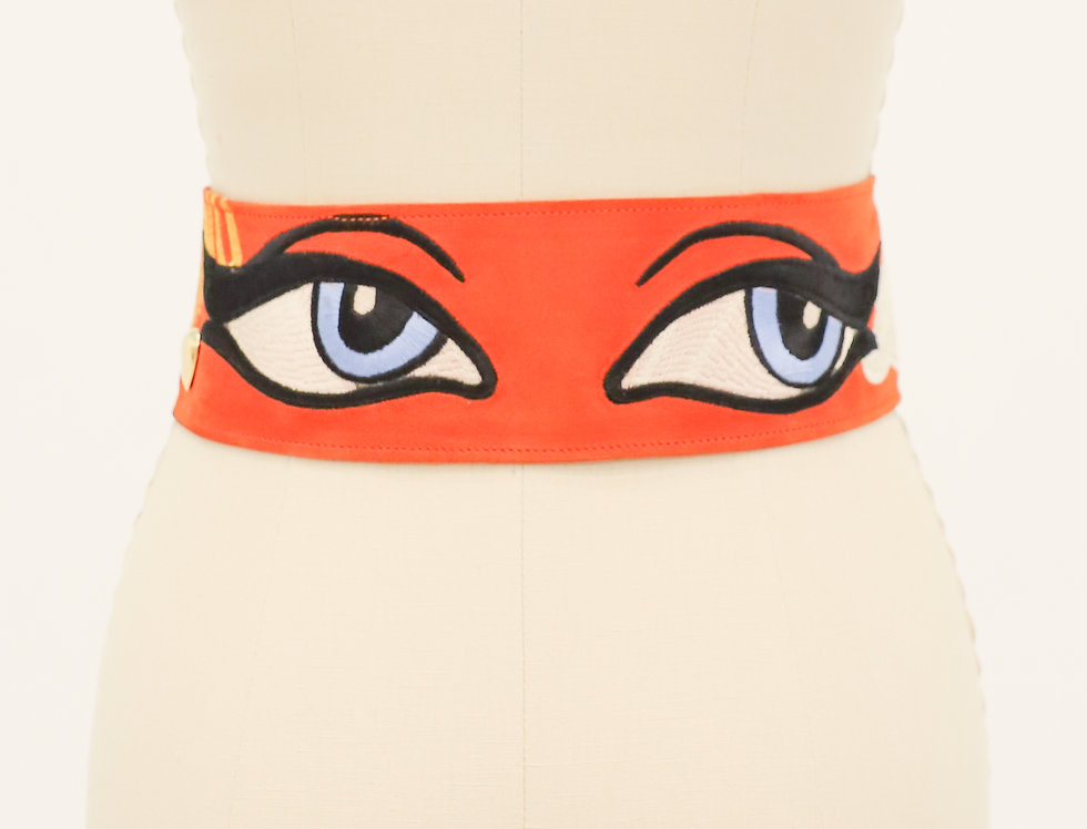 All Eyes on You Moschino Belt