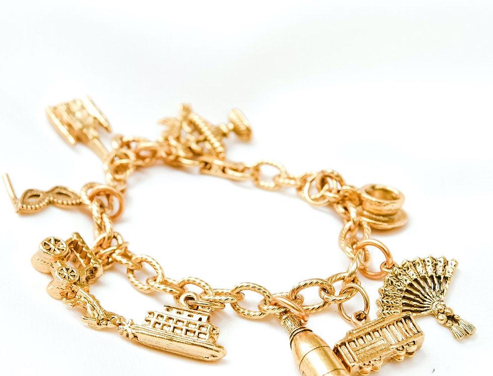 New Orleans Charm Bracelet