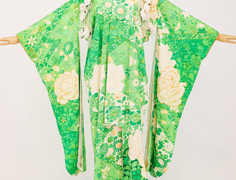 Lush Furisode Kimono