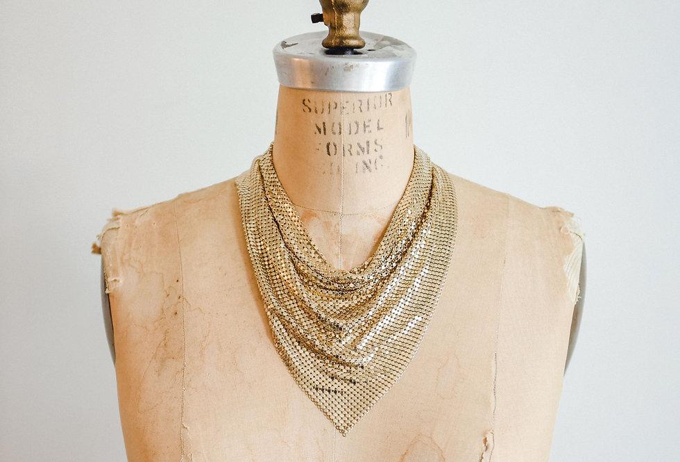 Disco Bib Necklace