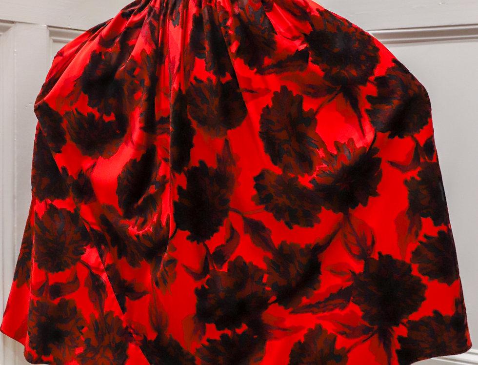 Vintage Dark Garden Gown