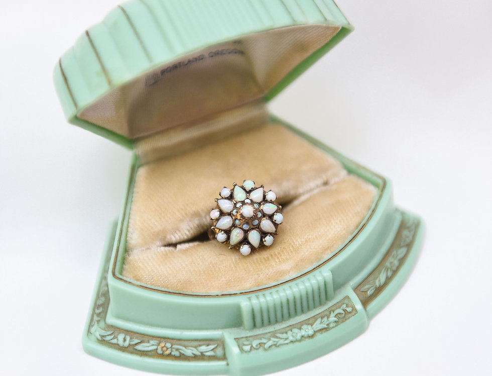 Antique Opal Princess Ring